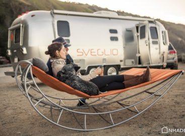 Làm mới không gian ngoại thất với ghế dài Volo