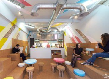 Quán trà trân châu với thiết kế vui nhộn, có tính tương tác cao tại London