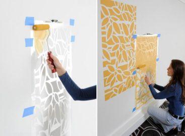 Tạo ấn tượng với những bức tường stencil