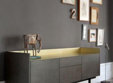 Tủ búp phê Stockholm – sự kết hợp hoàn mỹ giữa chất liệu gỗ và kim loại