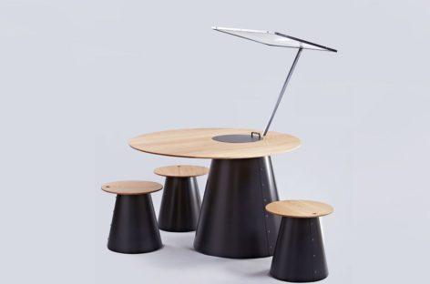 Bàn nướng sử dụng năng lượng mặt trời được thiết kế bởi Lanzavecchia + Wai