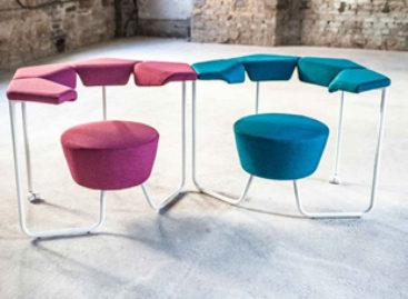 Bộ sưu tập ghế môđun được thiết kế bởi Perch