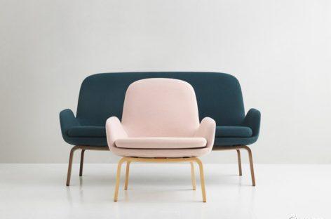 Bộ sưu tập ghế sofa nhỏ, gọn của Simon Legald
