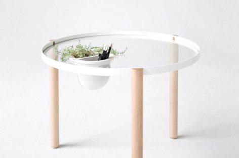 Không gian xinh xắn hơn với bàn phụ độc đáo được thiết kế bởi wrk – shp