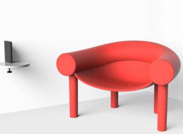 Chiếc ghế bành Sam Son có thiết kế lạ mắt
