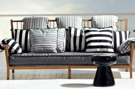 Không gian ngoại thất trở nên hiện đại hơn với bộ ghế sofa Inout 701