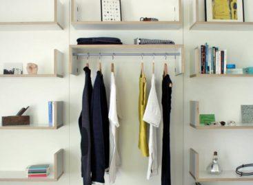 Hệ thống kệ môđun có thiết kế tối giản của Jardine Couture