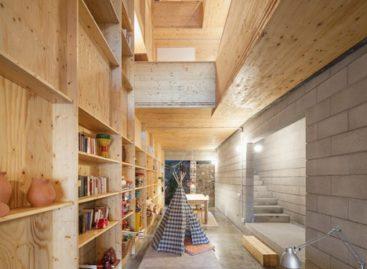 Thiết kế độc đáo của một ngôi nhà hẹp ở Tây Ban Nha
