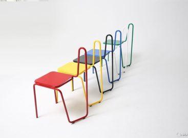 Những chiếc ghế đầy sắc màu lấy cảm hứng từ nét vẽ của họa sĩ Picasso
