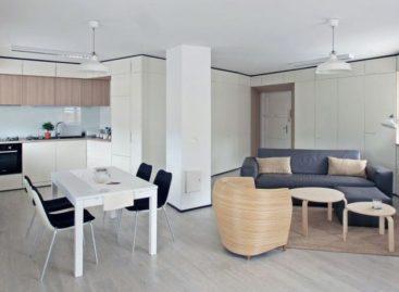 Thiết kế độc đáo của căn hộ hình tam giác ở Zagreb