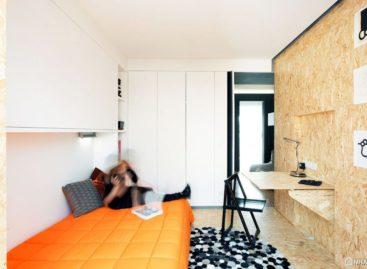 Thiết kế nhỏ gọn của căn hộ dành cho sinh viên ở Lisbon
