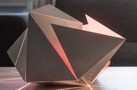 Đèn bàn Origami độc đáo