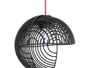 Nghệ thuật Op art với thiết kế đèn treo Dana