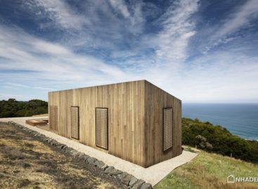 Thiết kế mới cho ngôi nhà hình hộp nằm bên bờ biển