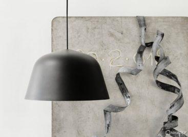 Đèn treo Ambit bằng nhôm trong bộ sưu tập nội thất Muuto của TAF