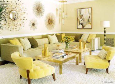 50 chiếc bàn cà phê tuyệt vời lấp lánh ánh vàng (Phần 1)