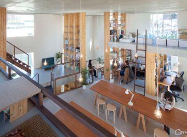 Tham quan văn phòng làm việc của một xưởng thiết kế ở Nhật bản