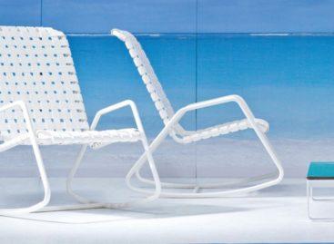Thiết kế mới của thương hiệu Gervasoni cho chiếc ghế bập bênh Inout 809 F