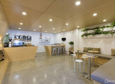 Ghé thăm quán cà phê có không gian thân thiện tại New Zealand