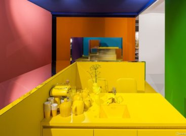 Những mảng màu rực rỡ tại triển lãm của i29 ở Amsterdam