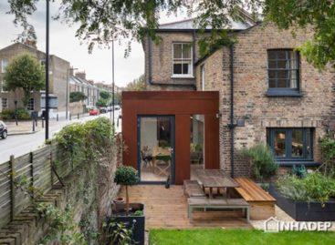 Sự kết hợp hài hoà của gạch và thép trong ngôi nhà ở Luân Đôn
