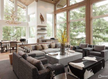 Cải tạo ngôi nhà gỗ có từ thập niên 1980 trên sườn núi Alpine