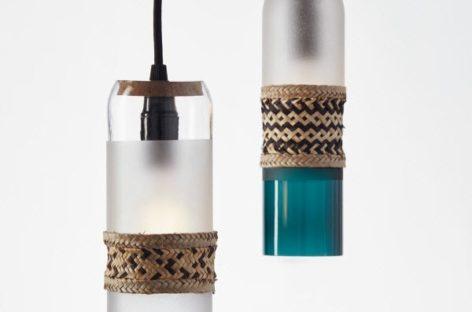 Bottle up – Những chiếc bình từ thủy tinh tái chế