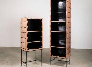 Sự kết hợp mới mẻ về vật liệu của chiếc tủ Fuse