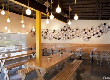 Thiết kế nổi bật của nhà hàng Yellow Fever