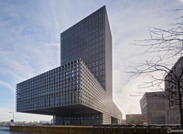 Toà nhà La Maison du Savoir thuộc trường đại học Luxembourg