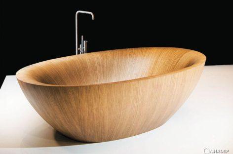 Những bồn tắm gỗ cho thiết kế nội thất hiện đại và phòng tắm sang trọng (phần 5)