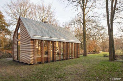 5 ngôi nhà gỗ nhỏ với thiết kế hiện đại