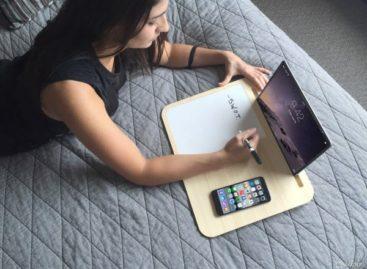 Bàn laptop Tab với thiết kế tối giản