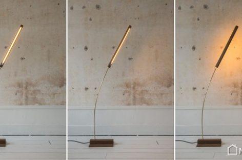 Chiếc đèn lấy cảm hứng từ sự dịch chuyển trong tự nhiên