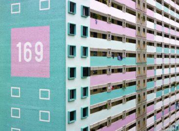Khu chung cư đầy màu sắc ở Singapore
