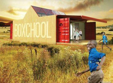 Boxchool – Không gian học tập hiện đại cho trẻ em nông thôn
