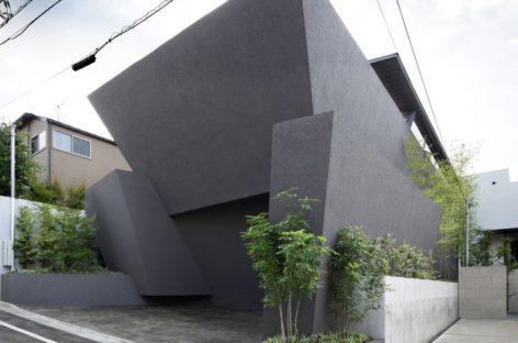 Căn nhà hiện đại ở Tokyo với kiến trúc xoắn ốc độc đáo