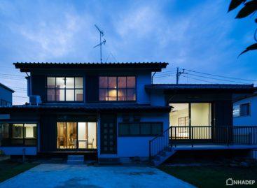 Tham quan ngôi nhà ở Hatogaya với những khung gỗ lạ mắt
