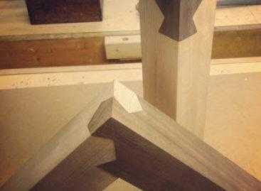 Những mối nối bằng gỗ độc đáo cho thiết kế nội thất