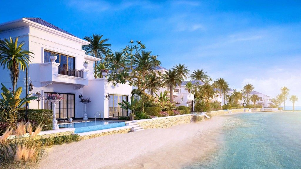 Ra mat biet thu nghi uong Vinpearl Resort and Villas_1