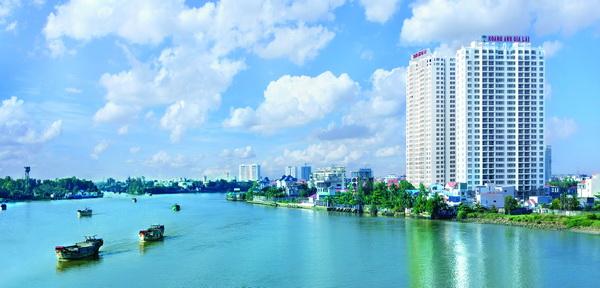 Khu can ho cao cap Hoang Anh River View