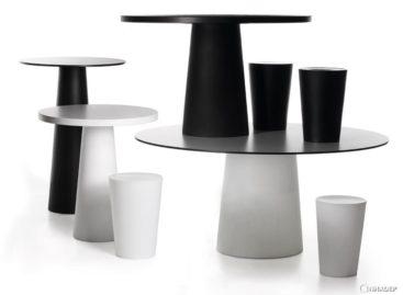 Phiên bản mới của bộ sưu tập Container Table