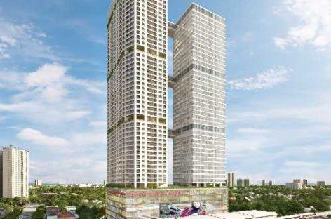 Sắp cất mái tổ hợp căn hộ 5.000 tỷ đồng trên đường Cầu Giấy