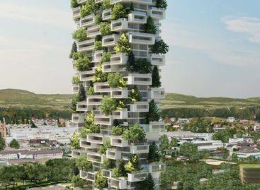 Thiết kế độc đáo của tòa nhà phủ cây xanh tại Thụy Sĩ