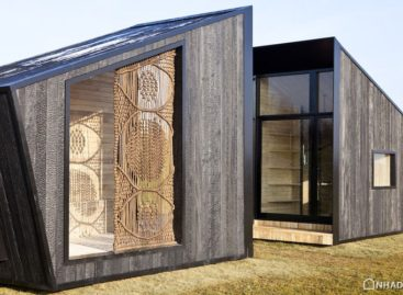 Sử dụng gỗ cháy trong thiết kế nhà hiện đại