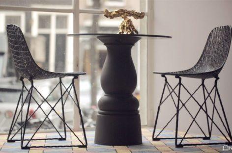 """Carbon chair – Mẫu ghế quầy bar """"nhẹ mà chắc'' của thương hiệu Moooi"""