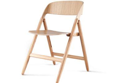 Chiếc ghế xếp mang vẻ đẹp hiện đại của David Irwin