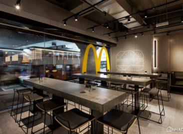 Thiết kế mới lạ của cửa hàng McDonald's tại Hồng  Kông