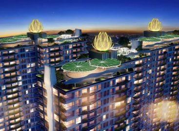 Diamond Lotus Lake View – Dự án xanh chính phẩm Hoa Kỳ đã xuất hiện tại Tân Phú