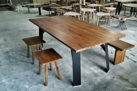[Sản phẩm nhập khẩu] Bàn ghế gỗ Teak của Aquiva Gallery, Indonesia